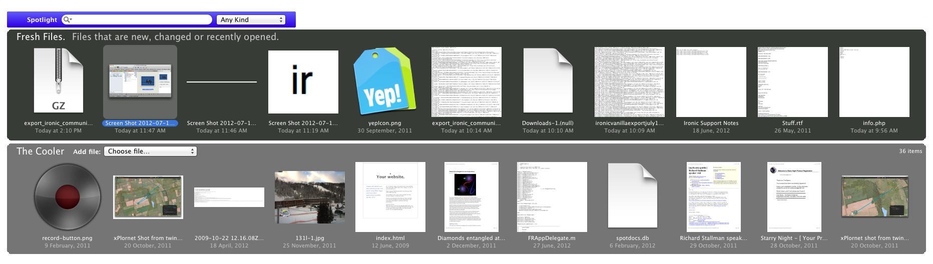 Fresh 4.0.4 Mac 破解版 免Finder快速查找定位使用文件